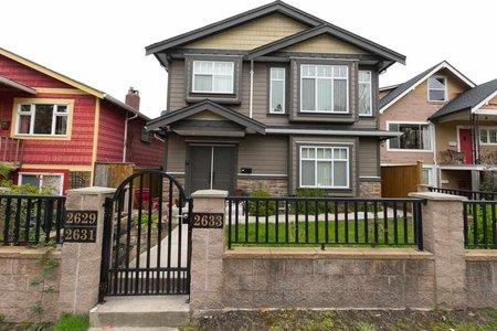 R2254550 - 2629 PANDORA STREET, Hastings East, Vancouver, BC - House/Single Family