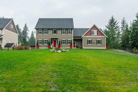R2255261 - 8595 260 STREET, County Line Glen Valley, Langley, BC - House with Acreage