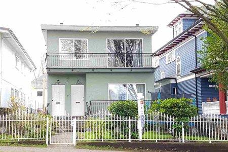 R2255894 - 1780 VENABLES STREET, Grandview VE, Vancouver, BC - House/Single Family