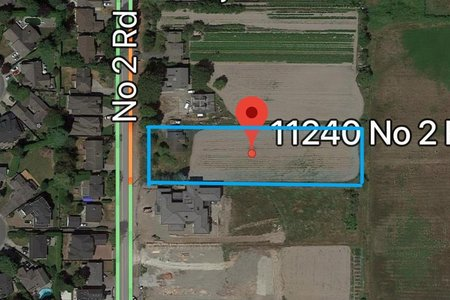 R2256287 - 11240 NO 2 ROAD, Gilmore, Richmond, BC - House with Acreage