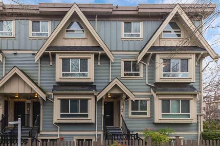 R2256421 - 91 N GARDEN DRIVE, Hastings, Vancouver, BC - Townhouse