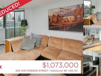 Photo of 402 1455 ROBSON STREET, Vancouver