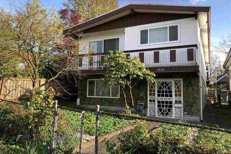 R2257190 - 2320 E 1ST AVENUE, Grandview VE, Vancouver, BC - House/Single Family