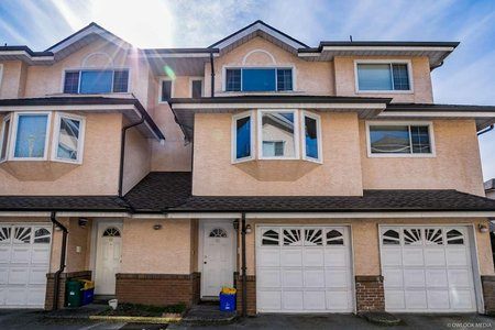 R2258041 - 21 8780 BENNETT ROAD, Brighouse South, Richmond, BC - Townhouse