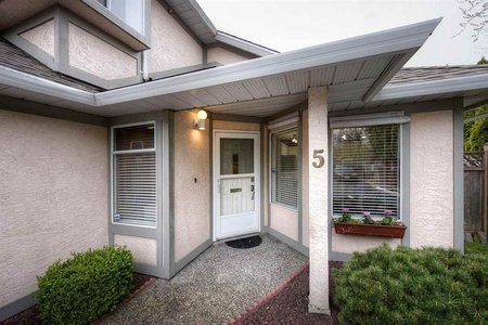 R2260262 - 5 8311 FRANCIS ROAD, Garden City, Richmond, BC - Townhouse