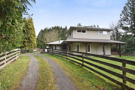 R2262581 - 626 216 STREET, Campbell Valley, Langley, BC - House with Acreage