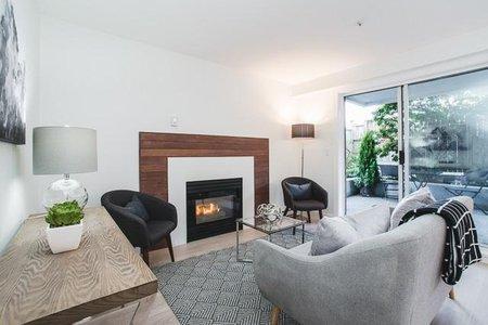 R2262588 - 105 2133 DUNDAS STREET, Hastings, Vancouver, BC - Apartment Unit