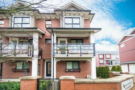 R2262740 - 101 9671 ALBERTA ROAD, McLennan North, Richmond, BC - Townhouse