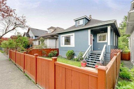 R2266818 - 1572 E 11TH AVENUE, Grandview VE, Vancouver, BC - House/Single Family