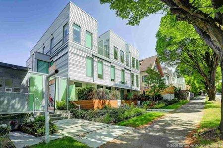 R2267671 - 7 1415 E 1ST AVENUE, Grandview VE, Vancouver, BC - Townhouse