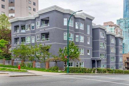 R2267850 - 101 921 THURLOW STREET, West End VW, Vancouver, BC - Apartment Unit