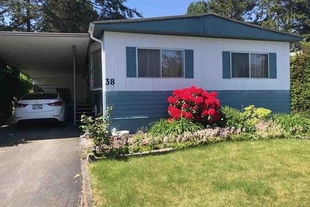 R2271120 - 38 1840 160 STREET, King George Corridor, Surrey, BC - Manufactured