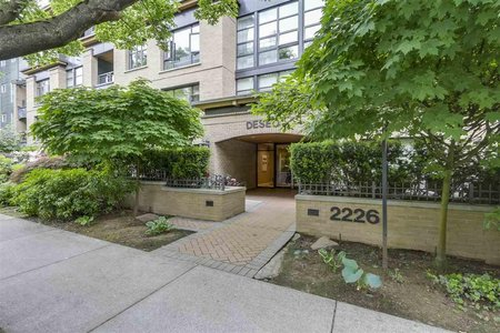 R2271186 - 202 2226 W 12TH AVENUE, Kitsilano, Vancouver, BC - Apartment Unit