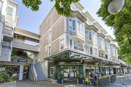 R2271679 - 206 2545 W BROADWAY STREET, Kitsilano, Vancouver, BC - Apartment Unit