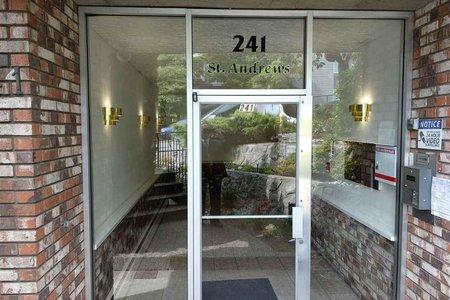 R2275360 - 202 241 ST. ANDREWS AVENUE, Lower Lonsdale, North Vancouver, BC - Apartment Unit