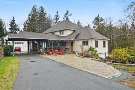 R2280174 - 26613 62 AVENUE, County Line Glen Valley, Langley, BC - House with Acreage