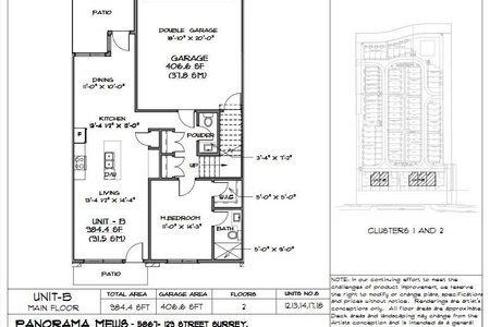R2280783 - 15 5867 129 STREET, Panorama Ridge, Surrey, BC - Townhouse