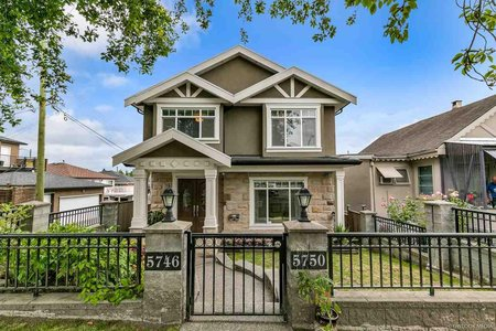 R2285198 - 5750 INVERNESS STREET, Knight, Vancouver, BC - House/Single Family