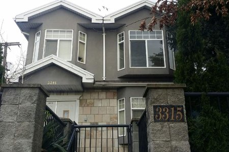 R2293019 - 3315 E BROADWAY, Renfrew VE, Vancouver, BC - House/Single Family