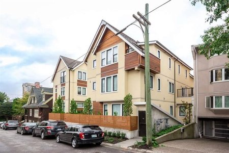R2293078 - 1078 NICOLA STREET, West End VW, Vancouver, BC - Townhouse