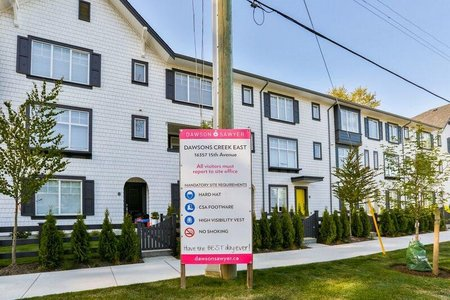 R2294984 - 23 16357 15 AVENUE, King George Corridor, Surrey, BC - Townhouse