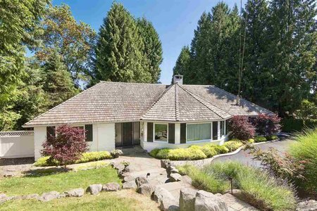 R2295635 - 4740 RUTLAND ROAD, Caulfeild, West Vancouver, BC - House/Single Family