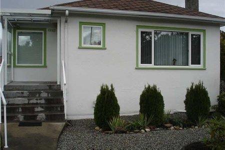 R2297644 - 2295 E 1ST AVENUE, Grandview VE, Vancouver, BC - House/Single Family