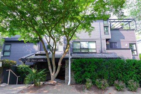 R2297886 - 107 2455 YORK AVENUE, Kitsilano, Vancouver, BC - Apartment Unit