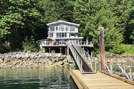 R2298045 - 20 E OF CROKER ISLAND, Indian Arm, North Vancouver, BC - House/Single Family