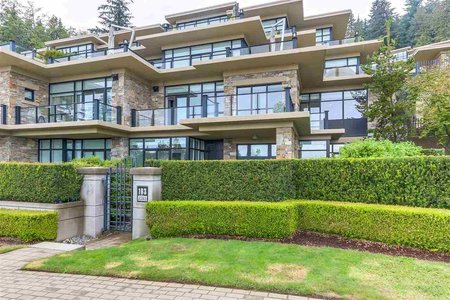 R2306410 - 103 2285 TWIN CREEK PLACE, Whitby Estates, West Vancouver, BC - Townhouse