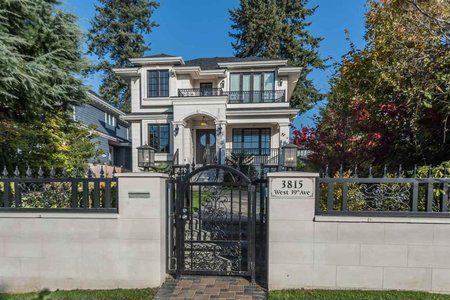 R2308261 - 3815 W 39TH AVENUE, Dunbar, Vancouver, BC - House/Single Family