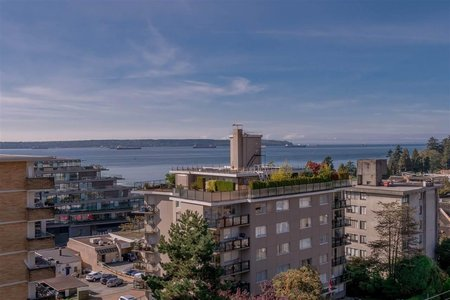 R2310830 - 803 1341 CLYDE AVENUE, Ambleside, West Vancouver, BC - Apartment Unit