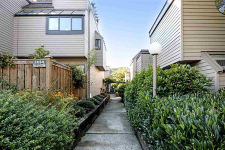 R2312826 - 1 1434 MAHON AVENUE, Central Lonsdale, North Vancouver, BC - Townhouse