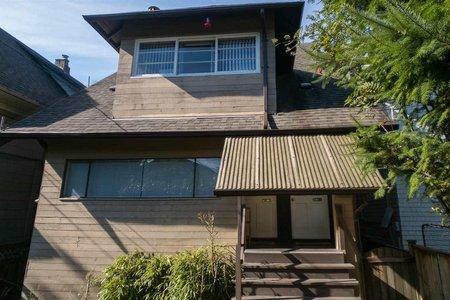 R2314684 - 1909 TRAFALGAR STREET, Kitsilano, Vancouver, BC - House/Single Family