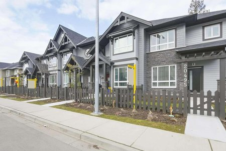 R2322040 - 20487 86 AVENUE, Willoughby Heights, Langley, BC - Row House (Non-Strata)