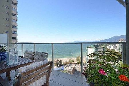 R2325120 - 1606 1221 BIDWELL STREET, West End VW, Vancouver, BC - Apartment Unit