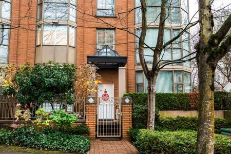 R2325131 - 1492 HORNBY STREET, Yaletown, Vancouver, BC - Townhouse