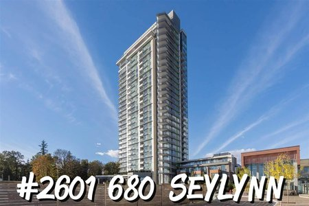 R2325281 - 2601 680 SEYLYNN CRESCENT, Lynnmour, Vancouver, BC - Apartment Unit
