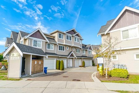 R2325969 - 8 10651 ODLIN ROAD, West Cambie, Richmond, BC - Townhouse