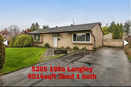 R2326794 - 5265 199A STREET, Langley City, Langley, BC - House/Single Family
