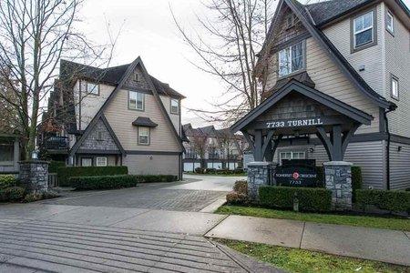R2327411 - 8 7733 TURNILL STREET, McLennan North, Richmond, BC - Townhouse