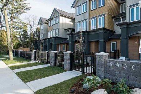 R2328056 - 4 9800 GRANVILLE AVENUE, McLennan North, Richmond, BC - Townhouse