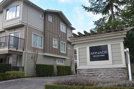 R2329176 - 24 7051 ASH STREET, McLennan North, Richmond, BC - Townhouse