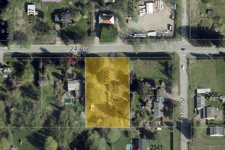 R2329928 - 17960 24 AVENUE, Hazelmere, Surrey, BC - House with Acreage