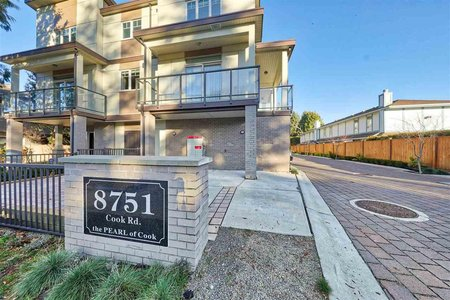R2330299 - 7 8751 COOK ROAD, Brighouse, Richmond, BC - Townhouse
