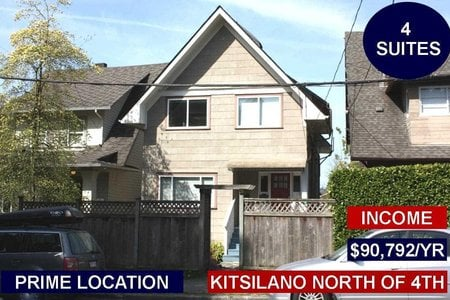 R2331856 - 1917 TRAFALGAR STREET, Kitsilano, Vancouver, BC - House/Single Family