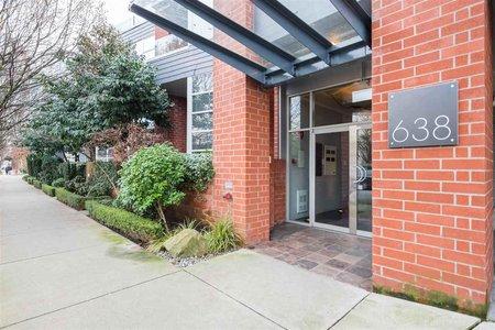 R2331955 - 309 638 W 7TH AVENUE, Fairview VW, Vancouver, BC - Apartment Unit