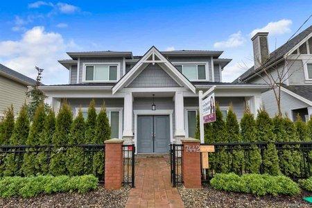 R2333193 - 7442 WILLIAMS ROAD, Broadmoor, Richmond, BC - House/Single Family
