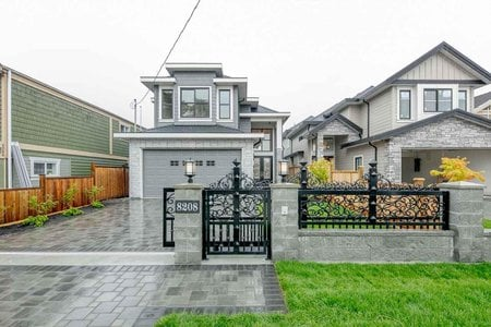 R2333367 - 8208 ASH STREET, Garden City, Richmond, BC - House/Single Family