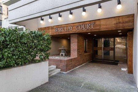 R2340408 - 101 1127 BARCLAY STREET, West End VW, Vancouver, BC - Apartment Unit